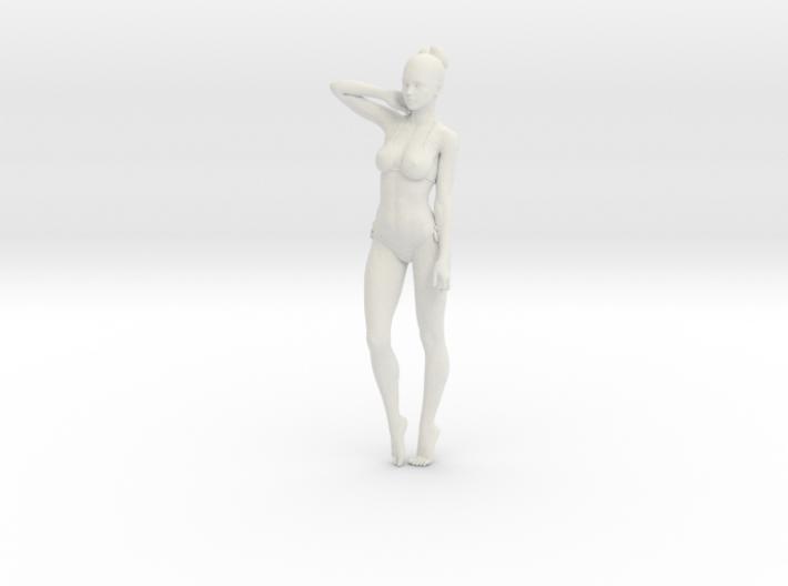 1:24 1:10 Bikini Girl 015 3d printed