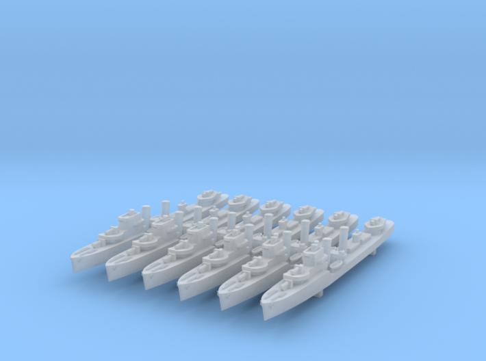 1/3000 E & H class x6 (FUD) 3d printed
