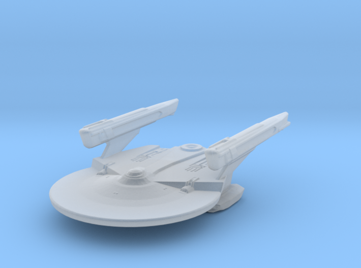 USS Reliant Design Sketch Variant Attack Wing 3d printed
