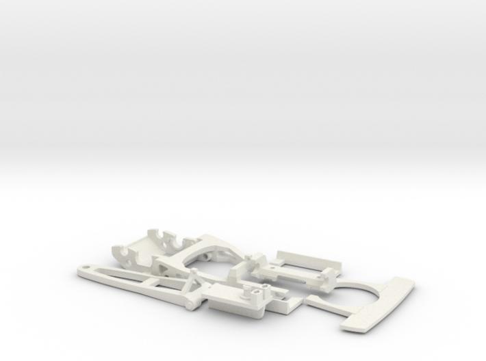 Slotcar racing Chassis 1:32 scale -update - EVO II 3d printed