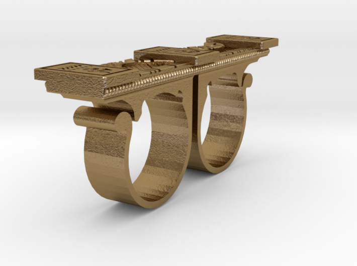 Kaecilius sling ring from doctor strange size 13  3d printed