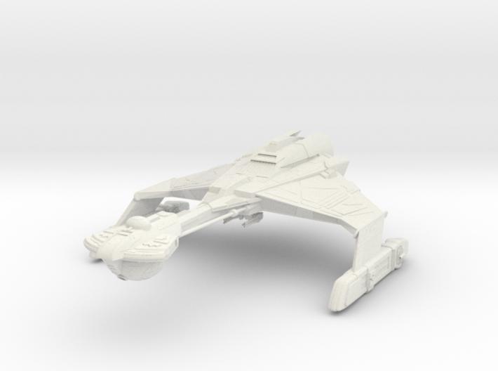 """Dtinga Class BattleCruiser 5"""" 3d printed"""