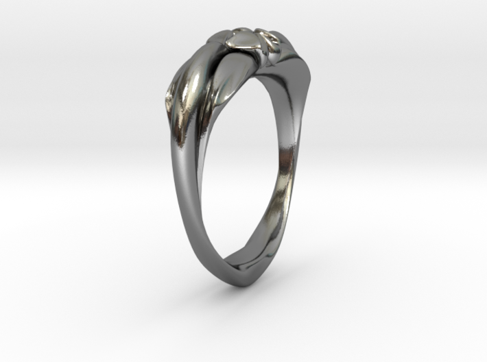 Heartring Size 11 3d printed