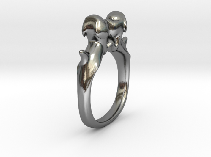 Dog Ring Size 6 3d printed