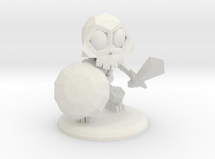SCELETAL WARRIOR 3d printed