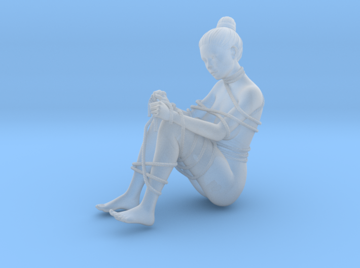 1:20 1:24 Rope with Girl 008 3d printed