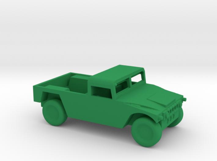 1/100 Scale Humvee Soft Top 3d printed