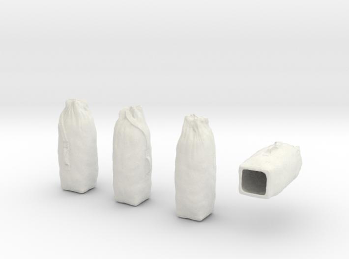 1-24 Army Duffle Bags Set1 3d printed