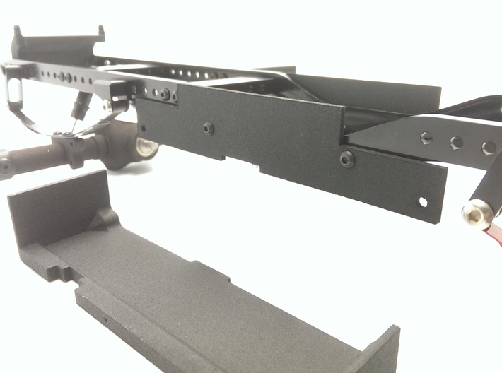 CMAX+Hilux Inner Battery Tray one side 3d printed