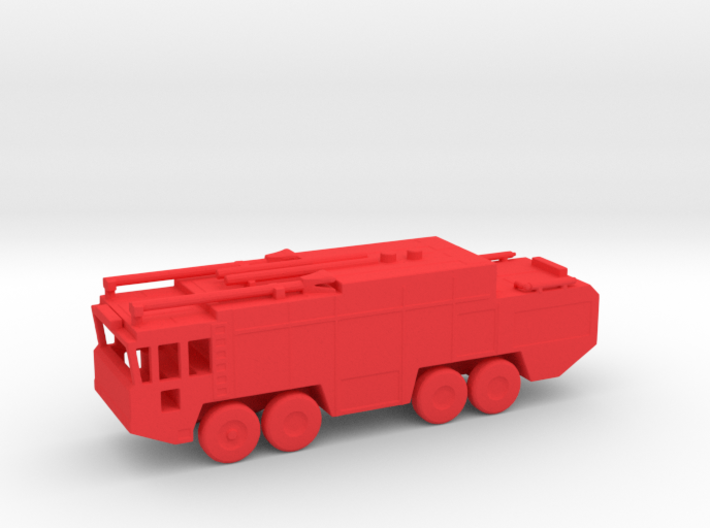 1/200 Scale Fuan Airfield Fire Truck 3d printed