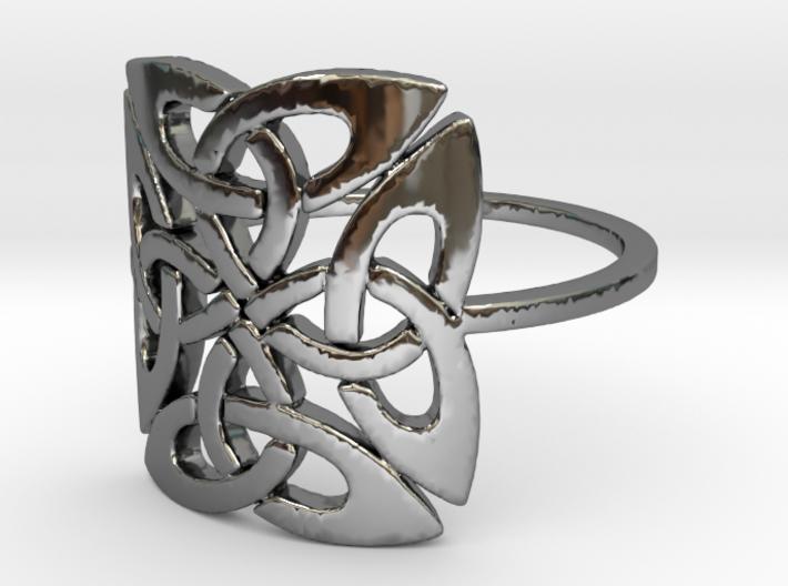 Triquetra (Size-4-13) 3d printed