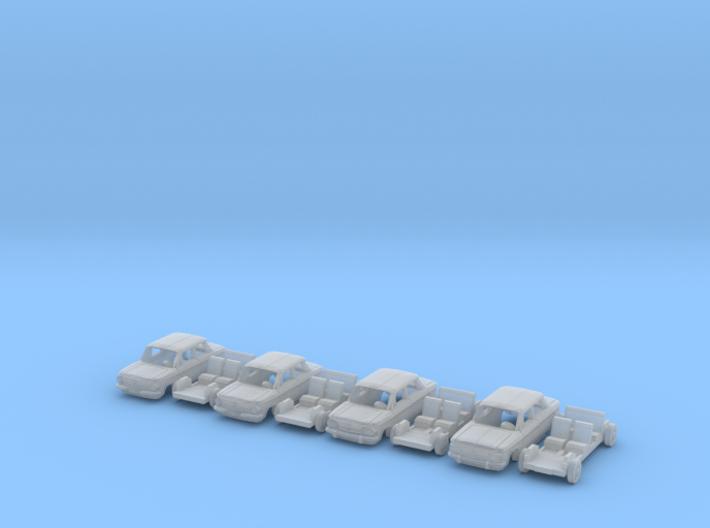 SET 4x NSU (N 1:160) 3d printed