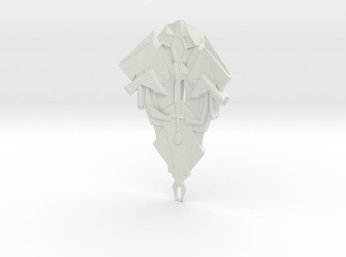 Cardassian TEROK Battleship 3d printed