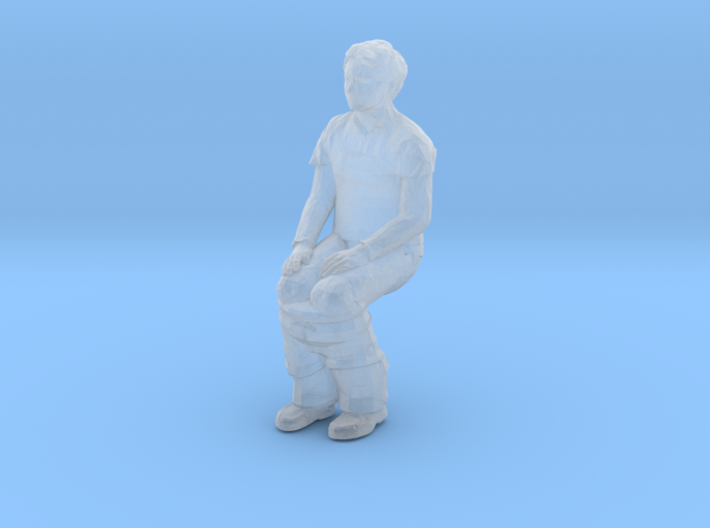 Porta Potty Pete 3d printed