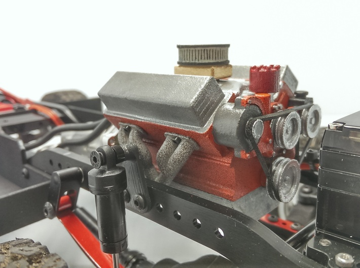 Ford V8 1 10 Long Block Engine Qjbt9x5jp By Gcmracing