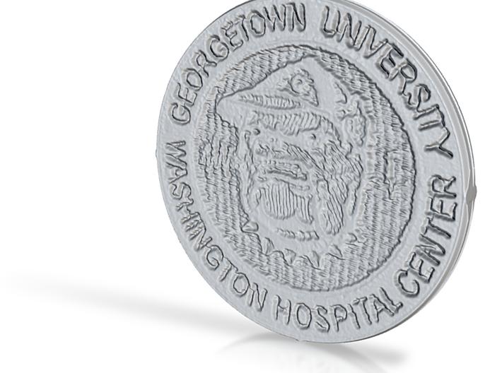GU/WHC Coin 3d printed