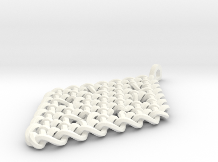 Celtic Knot Pendant 03 3d printed