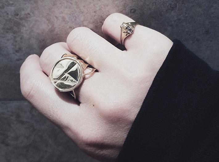 Signet Ring 3d printed