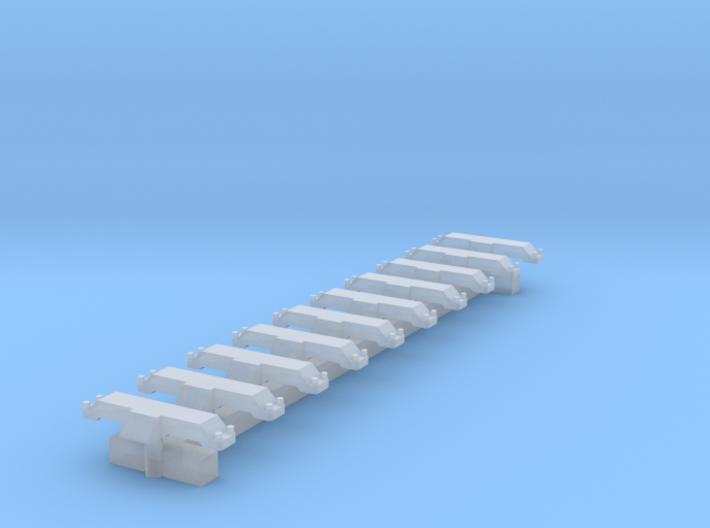 Spur N 10x Indusi Gleismagnet 3d printed