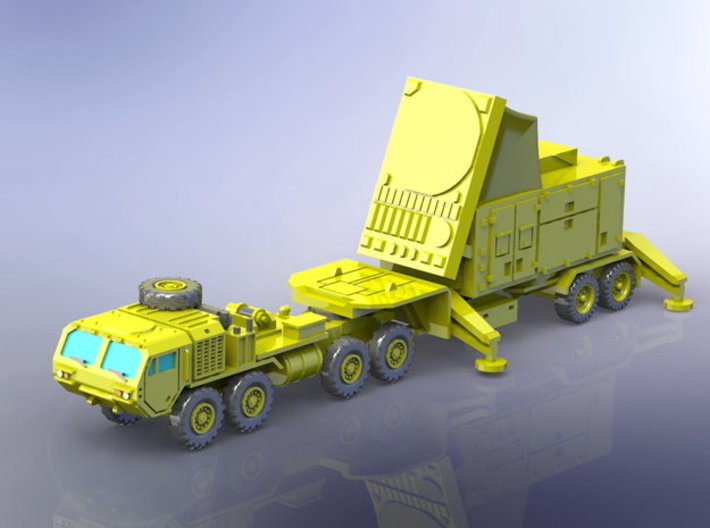 US Patriot MIM 104 AN/MPQ-53/65 Radar 1/160 3d printed
