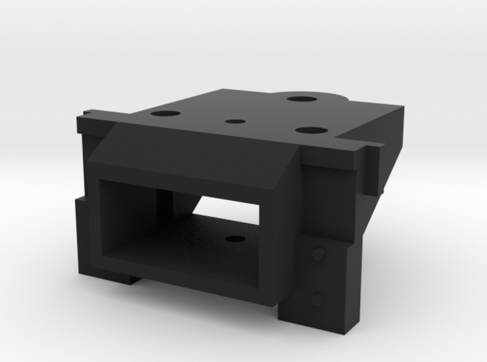 Lionel O Scale EMD GP7 & GP9 Coupler Mount (Open) 3d printed