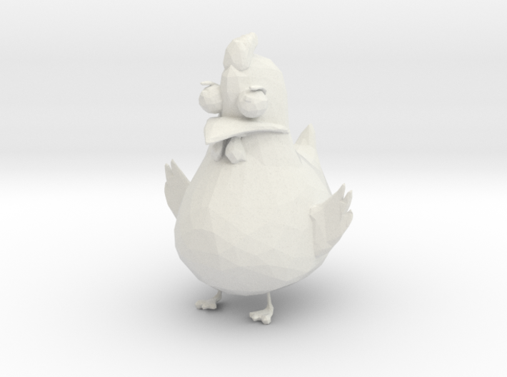 Chicken 3d printed