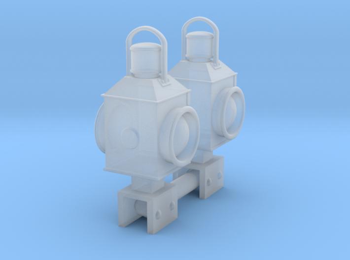 EP713 Crossing Lamps 3d printed