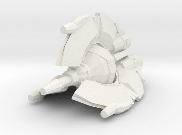 Droid Tri-fighter 1/270 3d printed