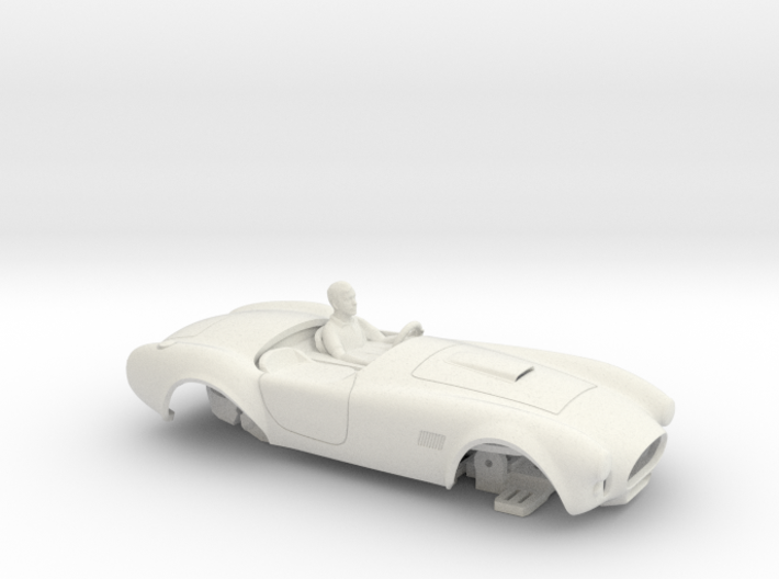 NEW! HO 427 Unibody Prototype with Chassis 3d printed