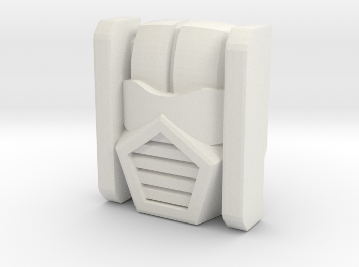 Gobots Leader-1 Face, Toy (Titans Return) 3d printed