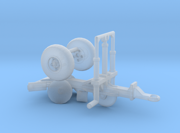 1/87th Mathis or Fesco PS-3 Fire Plow 3d printed