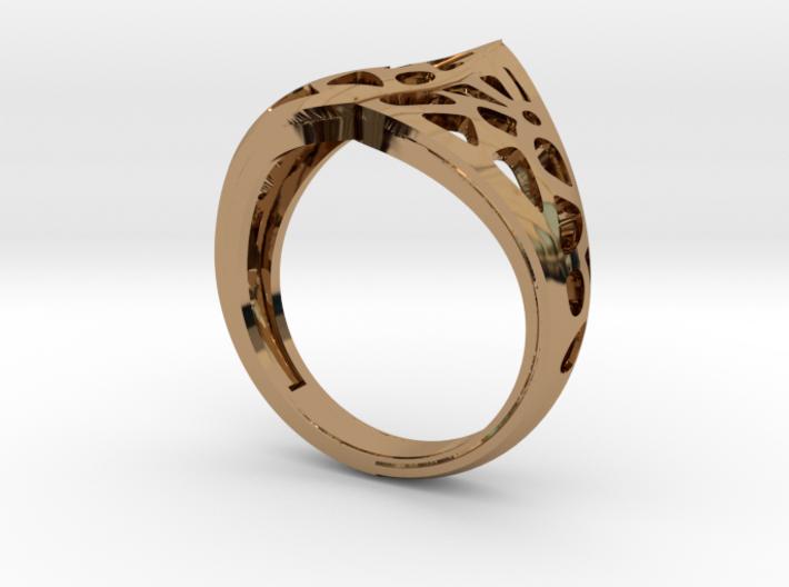Masquerade Ring 3d printed