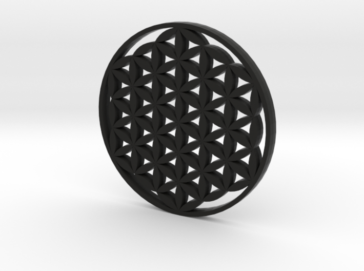 Large Flower Of Life Pendant 3d printed