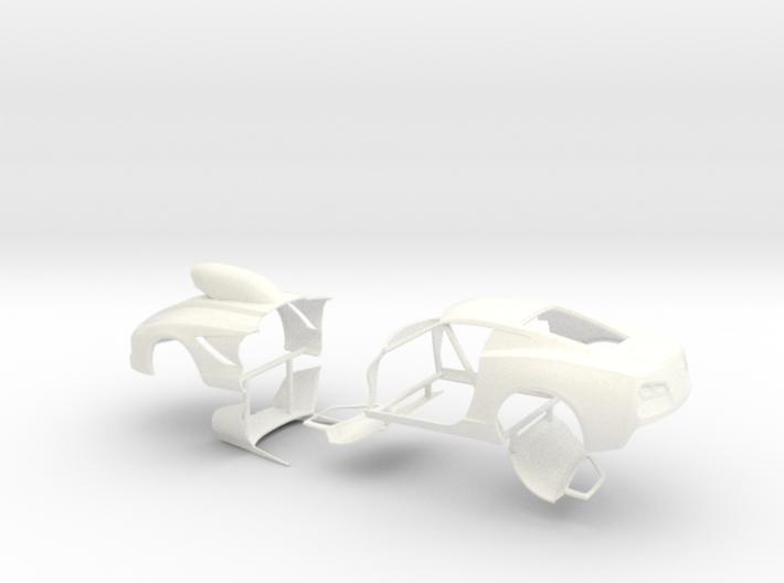 1/24 2014 Pro Mod Vette Sep Doors And Hood 3d printed