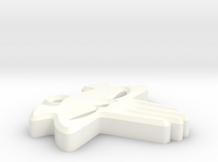 The Mega Bear Keychain 3d printed