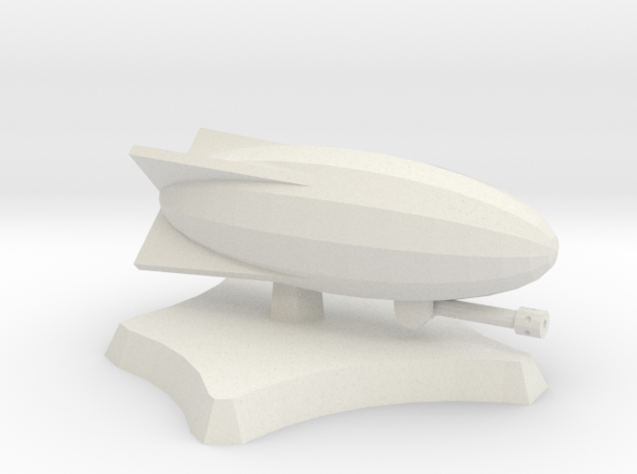 Snipper airship 3d printed