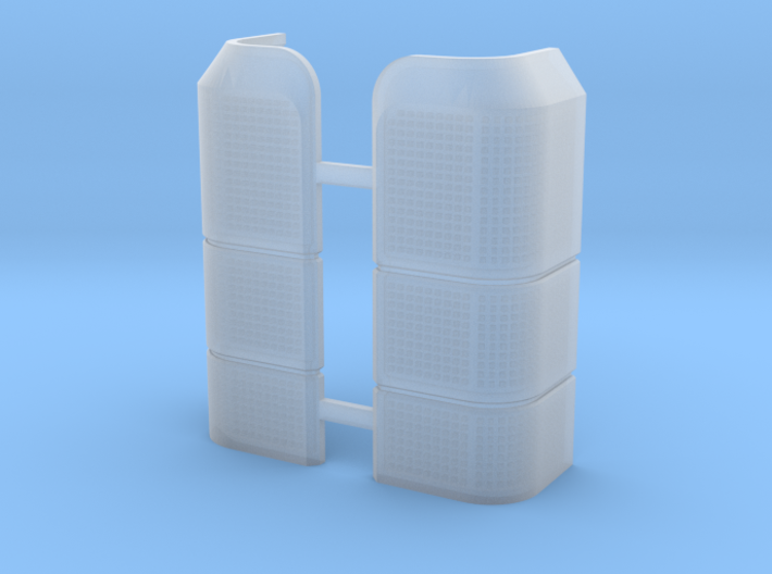 AC10009 SCX10 II XJ CHEROKEE Rear Light Lens 3d printed