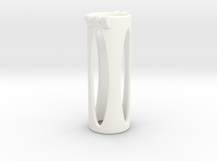 Ccage-shaft-oval 30-100 3d printed