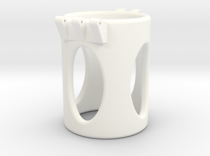 Ccage-shaft-oval 32-50 3d printed