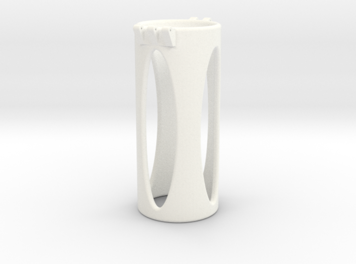 Ccage-shaft-oval 37-100 3d printed