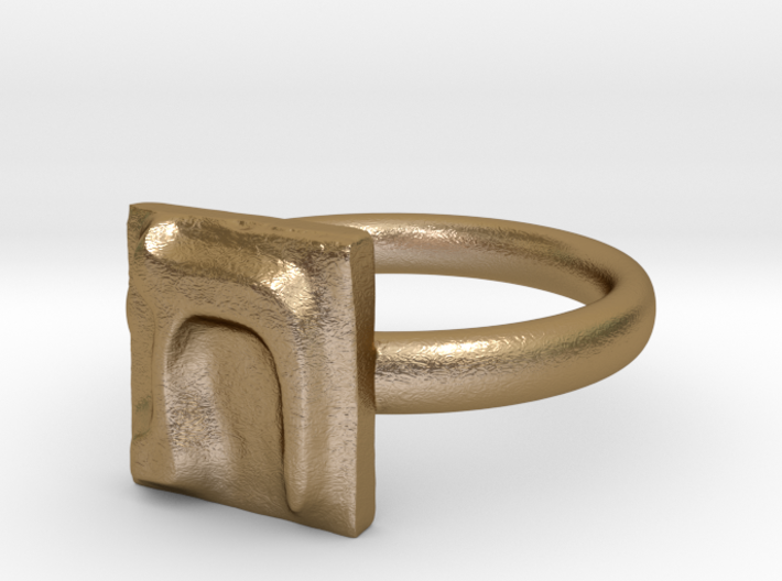 22 Tav Ring 3d printed