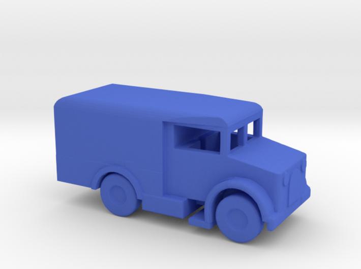 1/200 Scale Bedford MW Ambulance 3d printed