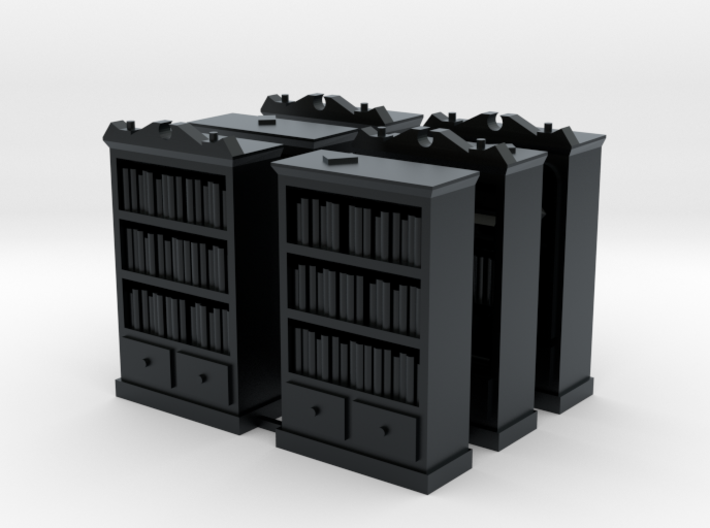 Mansions of Madness: Bookcase Barricades 3d printed