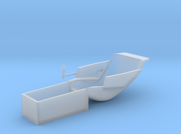 Replacement seat for Revell Reynard 1/25 scale 3d printed