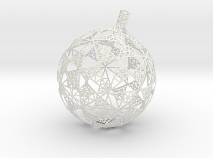 Part of stereographic projection lamp 3d printed