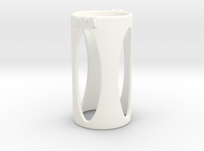 Ccage-shaft-oval 48-100 3d printed