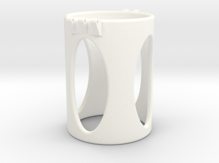Ccage-shaft-oval 49-75 3d printed