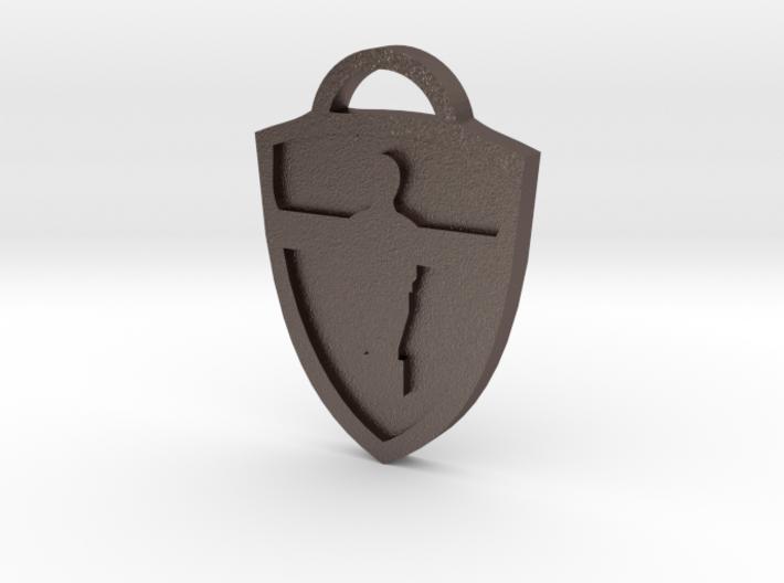 Foosball Keychain 3d printed