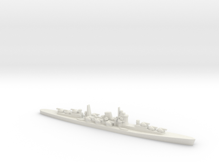 1/3000 IJN Projected Never Were AA Cruiser 3d printed