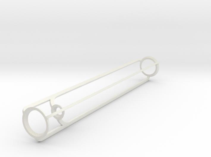 Light Vase High - plastic frame 3d printed